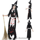 CL938 Zombie Authentic Salem Witch Ladies Halloween Horror Fancy Dress Costume