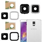 New Glass Camera Lens Cover Frame Part for Samsung Galaxy S7 S5 S4 S3 A3 A5 A7