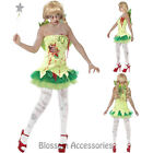 CL939 Zombie Tinkerbell Fairy Pixie Ladies Halloween Horror Fancy Dress Costume