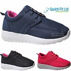 NEW LADIES SHOES LIGHTWEIGHT SPORTS GYM JOGGING RUNNING CASUAL WOMENS TRAINERS