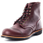 Red Wing 6-inch Iron Ranger Mens Boots Oxblood New Shoes