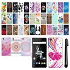 For OnePlus X PATTERN HARD Back Case Phone Cover + Pen