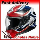 SHOEI NXR VALKYRIE TC1 Metallic Blue White Red FULL FACE PINLOCK HELMET