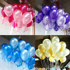 100pcs 10 inch Balloon Colorful Pearl Latex Celebration Birthday Party Wedding