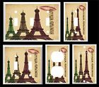EIFFEL TOWER FROM PARIS WITH LOVE  LIGHT SWITCH COVER PLATE  U PICK SIZE