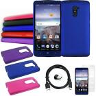 Phone Case For ZTE Grand X Max 2 4g LTE Hard Cover Type-C USB Charger Film