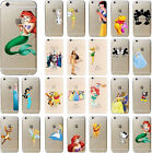 For  iPhone Disney Comic Screen Protector Film Transparent Hard Cover Case