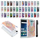 For LG V10 H900 VS990 H901 H968 Studded Bling HYBRID Case Phone Cover + Pen
