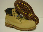 "NEW Mens WIDE CATERPILLAR CAT Holton 6"" P89733 Steel Toe Honey EH Boots Shoes"