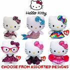 "TY Beanie Babies 6"" HELLO KITTY Soft Plush Toy - Assorted Designs"