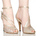 New Women Ballroom Latin Dance Salsa Shoes Tango Heeled Shoes 6cm US 5.5-9