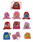 LOT 12 Disney Kids Sling Net Mesh Bag Backpack Cars Mickey Princess Party Favors