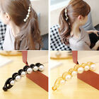 Trendy Women Girls Pearl Crystal Hair Barrette Clip Hairpin Hair Accessories New