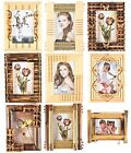 4'' x 6'' Brand New Vintage Style Wooden Photo frame Ideal Gift x 1