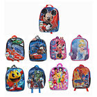 "15"" Kids Licensed School Backpack bookbag Boys Girls Disney Marvel Nickelodeon"