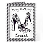 Personalised Birthday Cards For Women Girls Her 18th 21st 30th 40th 50th 60th