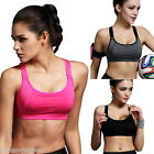 JP 1PC Women Stretch Sport Bra Padded Running Gym Yoga Fitness Tank Tops Workout