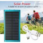 UK 20000mAh 2 USB POWER BANK SOLARE CARICABATTERIE UNIVERSALE SMARTPHONE BATTERY
