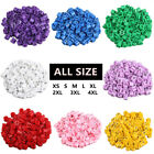 "Внешний вид - Colored Hanger Sizer Garment Markers ""XS-6XL""Plastic Size Marker Tags All Sizes"