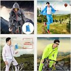 Men Women Bike Cycling Rainwear Suits Raincoat Bicycle Rain Pants Clothing Set