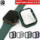 Apple Watch 1/2/3 38/42mm Slim Full Body Cover Snap Metal Case+Screen Protector