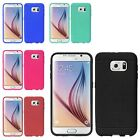 Rubber Soft Silicone Ultra Thin Cover Case Retail Package For Samsung Galaxy S6