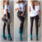 New Sexy Womens Loose Summer Tops Short Sleeve Blouse Off Shoulder T-Shirt Tops