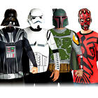 Star Wars Villains Shirts + Mask Mens Fancy Dress Halloween Adults Movie Costume
