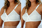 NEW WOMEN LADIES COMFORTABLE NON PADDED BRA SOFT CUP EMBROIDERED BRA ALL SIZES