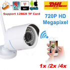 720P HD IP Outdoor Camera Wifi Wireless CCTV Security Network Night Vision CD