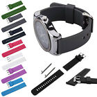 22mm Width Silicone Watch Band Strap with Quick-Release Pins for Samsung R382