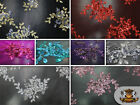 """Mesh Floral Sequin Seaweed Fabrics / 52"""" Wide / Sold by the yard"""