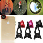 3 Color Universal Clip 3in1 Camera Set Wide Angle+Fisheye+Macro Lens SmartPhone