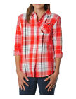NCAA Georgia Bulldogs Women's Boyfriend Flannel Plaid Shirt