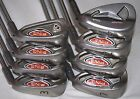 Ping i10 3 PW iron set with Ping AWT stiff flex shafts blue 75 upright lie