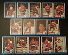 1989-90 OPC WASHINGTON CAPITALS Select from LIST NHL HOCKEY CARDS O-PEE-CHEE