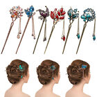 Charm Women Elegant Rhinestone Alloy Bobby Pin Colorful Hairpin Hair Stick New