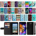 For LG Optimus Zone 3 VS425PP Magnetic Flip Wallet POUCH Case Phone Cover + Pen