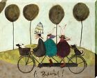 Sam Toft A Bikeful! Canvas Print 50x40x3.8cm
