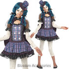 CK569 Broken Doll Tween Girls Halloween Fancy Dress Party Gothic Costume Outfit