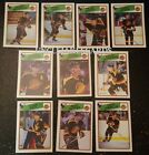 1988-89 OPC VANCOUVER CANUCKS Select from LIST NHL HOCKEY CARDS O-PEE-CHEE