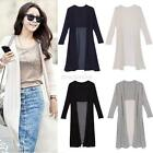 Summer Women Chiffon Sheer Long Cardigan Sun Protection Maxi Dress Jacket Coat