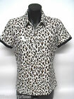 Bowls Australia Approved Ladies Polo Shirt Sporte Leisure Animal Print  RRP $79