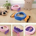 2-in-1 Foldable Portable Baby Kid Children Travel Potty Chair Toilet Seat LA
