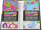 Colour Therapy Anti-Stress Travel Edition Adults Colouring Books Brand New