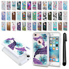"""For Apple iPhone 8 / iPhone 7 4.7"""" Studded Bling HYBRID Case Phone Cover + Pen"""
