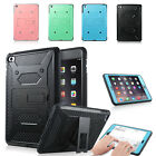 Shockproof Heavy Duty Hybrid Hard Case Cover with Kickstand For iPad Mini 4