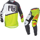 Fly Racing 2017 F-16 Motocross Jersey & Pants Black Lime MX ATV Kit GhostBikes