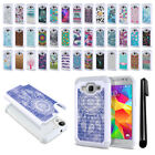For Samsung Galaxy Core Prime G360 Studded Bling HYBRID Case Phone Cover + Pen