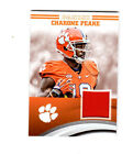 Charone Peake Clemson Tigers football 2016 Panini Jersey card CP-CL
